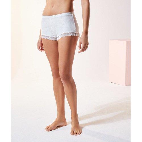 Bas de pyjama short bords dentelle MINIA - ETAM - Modalova