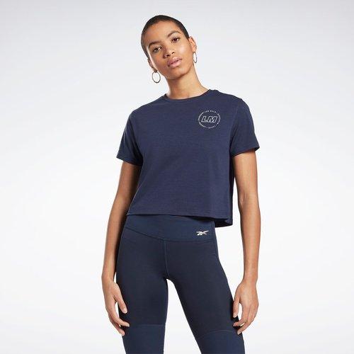 T-shirt crop Les Mills® - REEBOK SPORT - Modalova