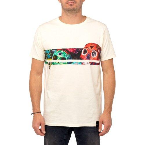 T-shirt LINESKULL - PULLIN - Modalova