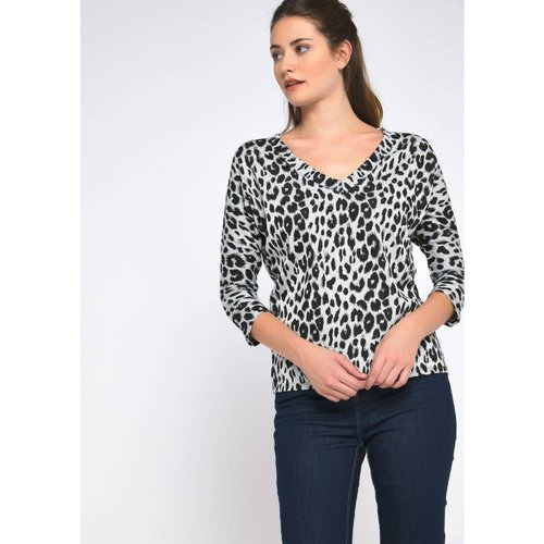T-shirt imprimé léopard - LOLALIZA - Modalova
