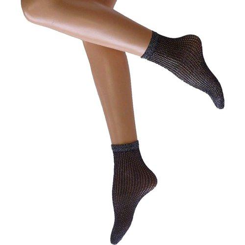 Chaussettes fantaisie résille effet brillant Glitter - Cette - Modalova