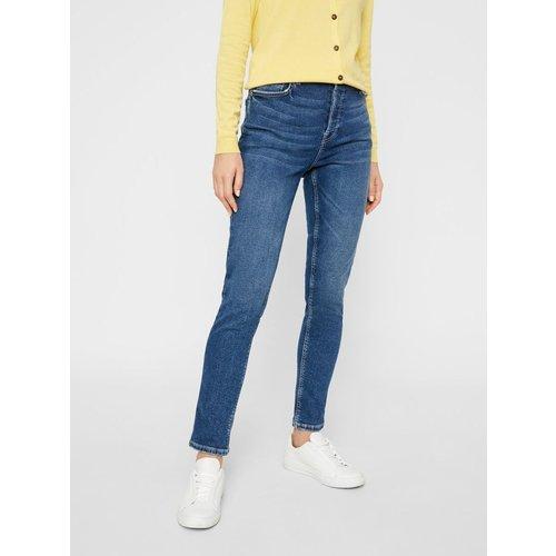 Jean slim Taille haute - Pieces - Modalova