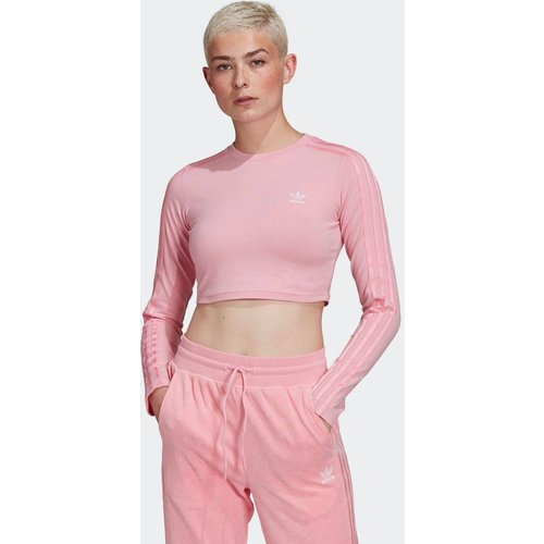 T-shirt LOUNGEWEAR Cropped Long Sleeve - adidas Originals - Modalova