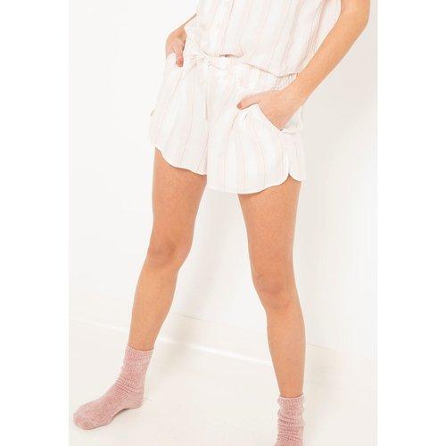Bas de pyjama imprimé - CAMAIEU - Modalova