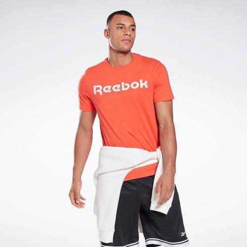 T-shirt Graphic Series Linear Logo - REEBOK SPORT - Modalova