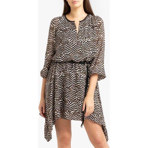 Robe ample imprimée courte - IKKS - Modalova