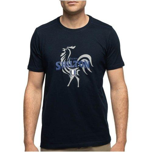 T-shirt rugby col rond coq France - SHILTON - Modalova
