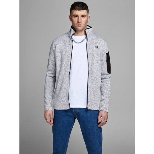 Cardigan Zippé empiècement - jack & jones - Modalova