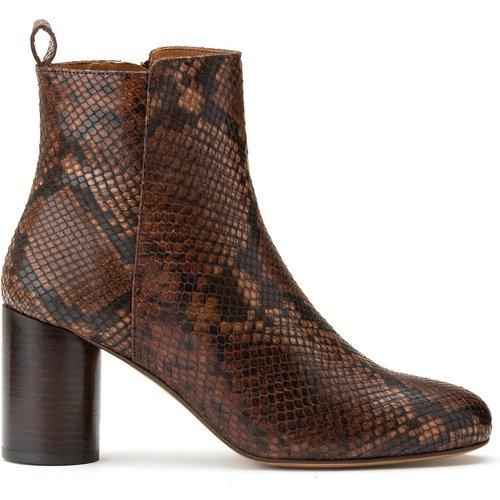 Boots en cuir à talon, GIORGIA - ANTHOLOGY PARIS - Modalova