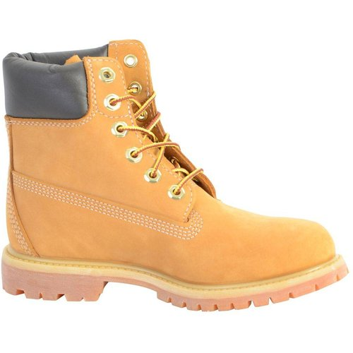 Boots Cuir AF 6IN PREM WHEAT W NB YELLOW - Timberland - Modalova