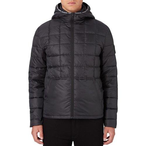 Veste zippée matelassée à capuche - Calvin Klein Jeans - Modalova