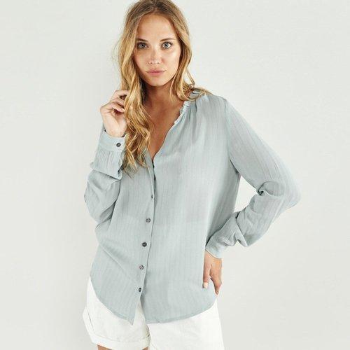 Chemise à manches longues Motif à rayures DANIELA - ARTLOVE - Modalova