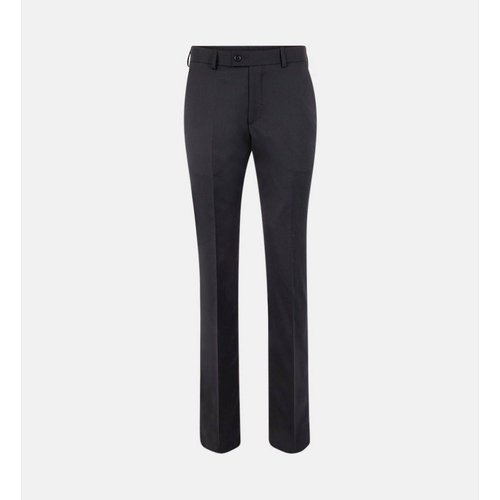 Pantalon De Costume Calu Droit En Laine - COMPTOIR GL - Modalova