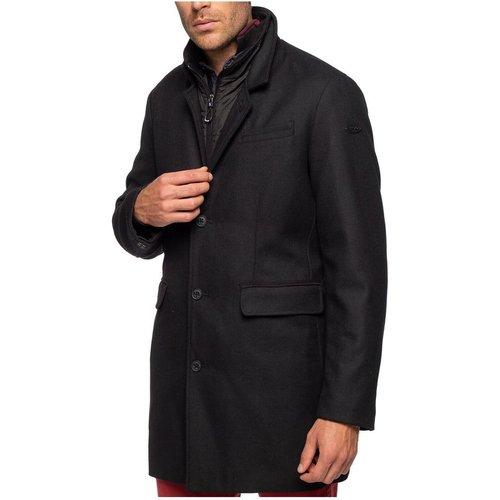 Manteau en laine coupe droite CITY - SHILTON - Modalova