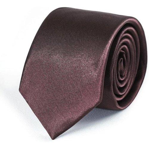 Cravate Slim unie - Fabriqué en europe - DANDYTOUCH - Modalova