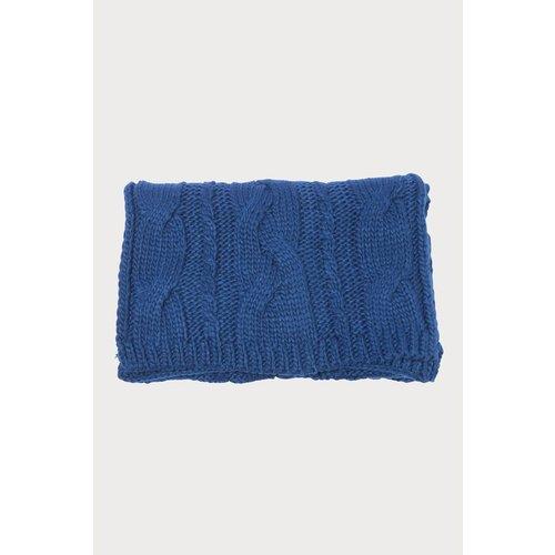 Écharpe tricotée à torsades - CACHE CACHE - Modalova
