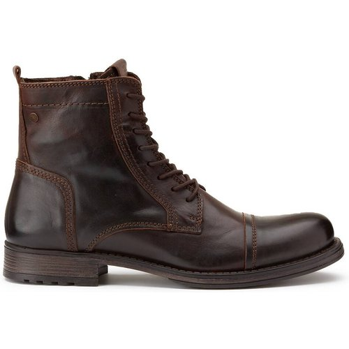 Boots en cuir Russel - jack & jones - Modalova