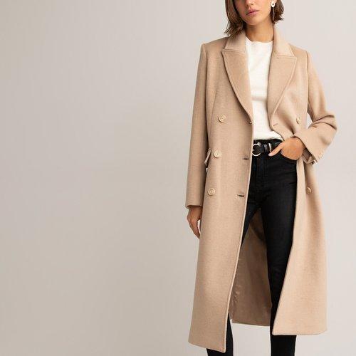 Manteau long en laine recyclée - LA REDOUTE COLLECTIONS - Modalova