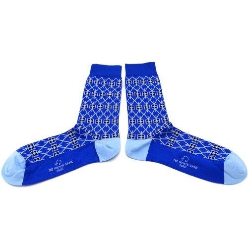 Chaussettes fantaisie coton à motifs : MARIE-ANTOINETTE - THE FRENCH GAME - Modalova