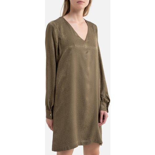 Robe droite, courte, manches longues - IKKS - Modalova