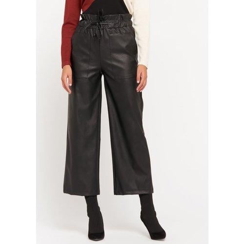 Pantalon simili-cuir - LOLALIZA - Modalova