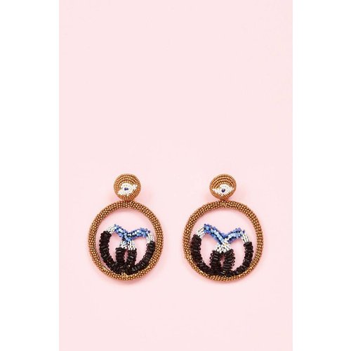 Boucles d'oreilles fantaisie - ANTOINE ET LILI - Modalova