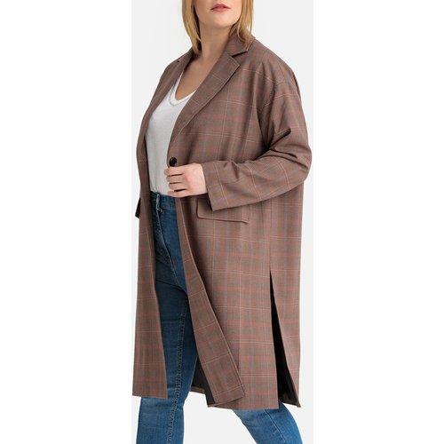Manteau long à carreaux, mi-saison - LA REDOUTE COLLECTIONS PLUS - Modalova