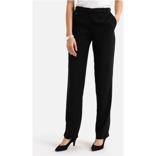 Pantalon droit taille réglable sergé stretch - Anne weyburn - Modalova