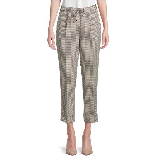 Pantalon à carreaux - BETTY & CO - Modalova
