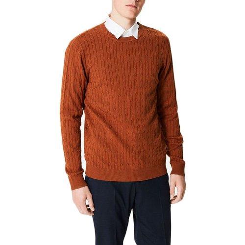 Pull tricot col rond - KEBELLO - Modalova