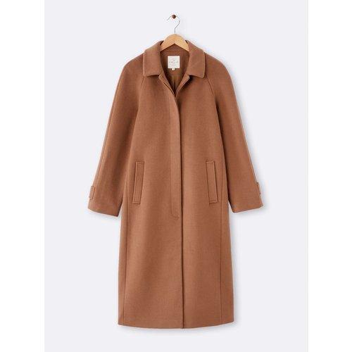 Manteau car coat long - CYRILLUS - Modalova
