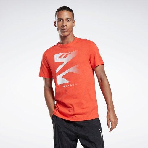 T-shirt Vector Fade Graphic - REEBOK SPORT - Modalova