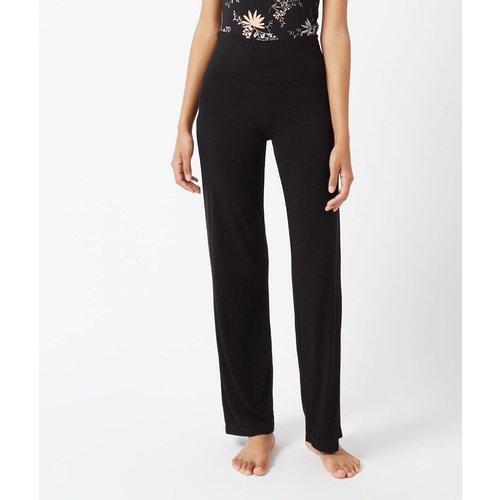 Pantalon de pyjama fluide taille haute AMELIA - ETAM - Modalova