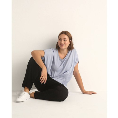 Pantalon droit à taille élastique - COUCHEL - Modalova