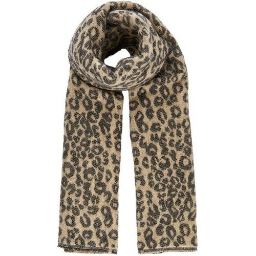 Écharpe Imprimé léopard - Pieces - Modalova