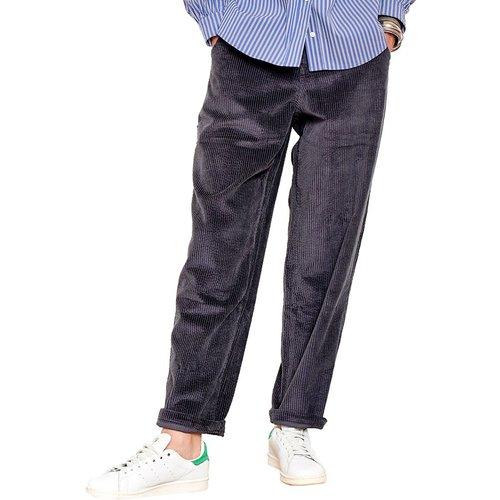 Pantalon carotte taille haute en velours PAGALI - MKT STUDIO - Modalova