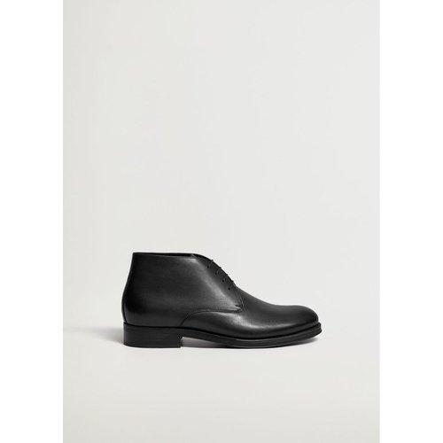 Desert boots cuir - mango man - Modalova