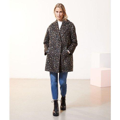 Manteau droit léopard ANIMAL - ETAM - Modalova