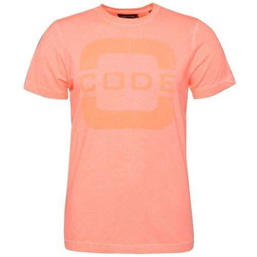 T-shirt col rond - CODE ZERO - Modalova