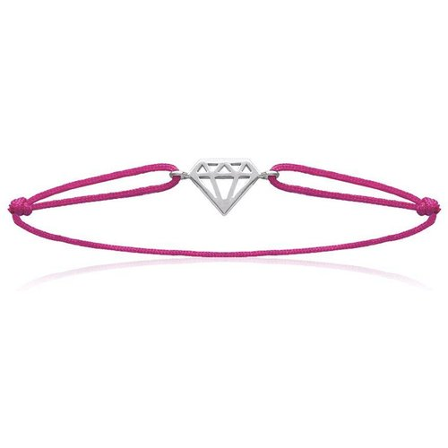 Bracelet cordon DIAMANT - Lorenzo R - LORENZO R - Modalova
