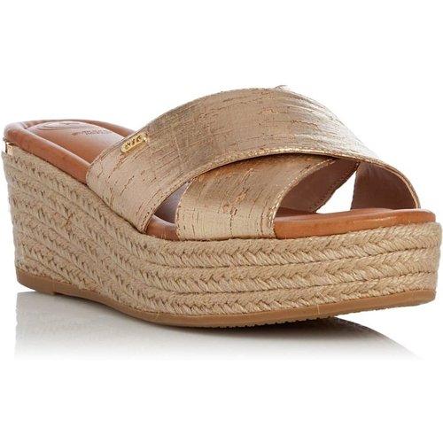 Sandales compensées à bordure effet espadrilles - KUTA T - DUNE LONDON - Modalova