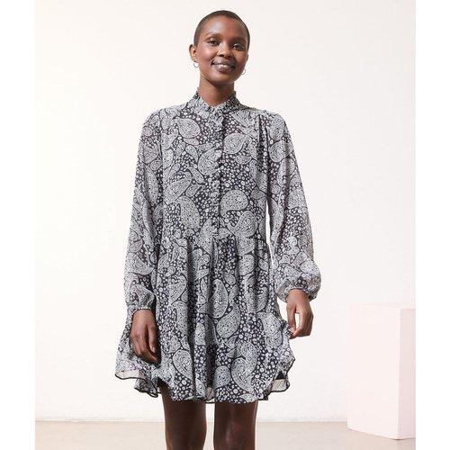 Robe chemise imprimé FAUSTINE - ETAM - Modalova