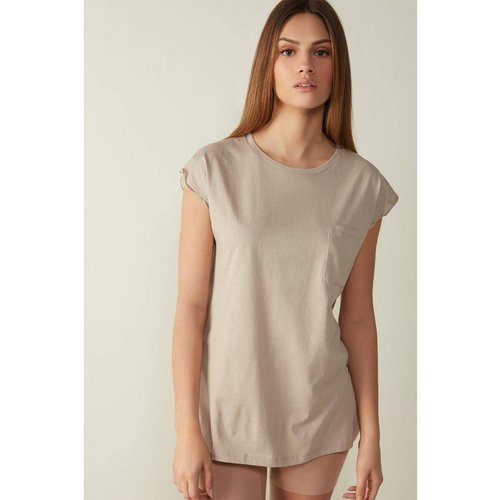 T-Shirt manches courtes en coton ultraléger supima® - INTIMISSIMI - Modalova