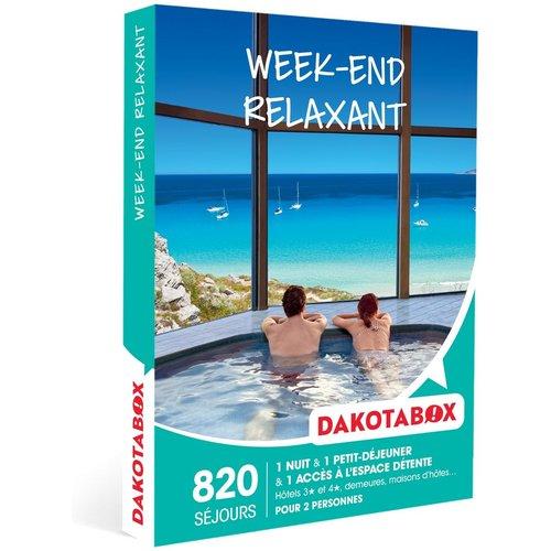 Week-end relaxant - Coffret Cadeau Séjour - DAKOTABOX - Modalova
