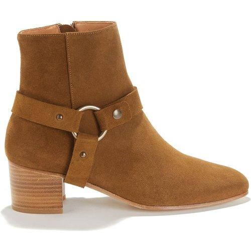 Boots à talon en cuir FORT GRAHAM - SESSUN - Modalova