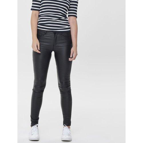 Pantalon slim enduit 5 poches longueur 32 - Only - Modalova