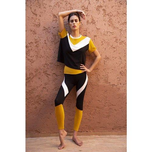 Legging de yoga en coton bio JANE - LUZ COLLECTIONS - Modalova