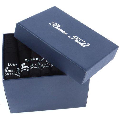 Semainier de chaussettes en fil d'Ecosse - BRUCE FIELD - Modalova