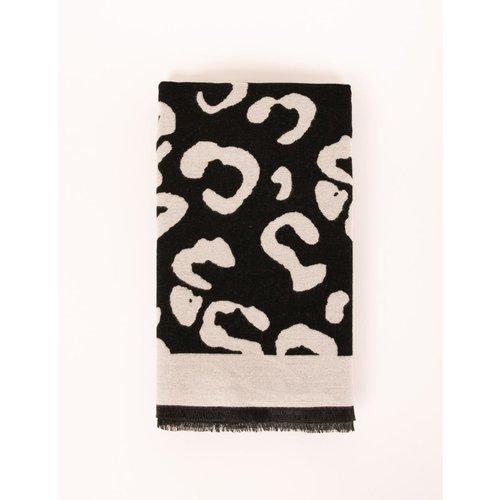 Écharpe imprimé léopard - Morgan - Modalova