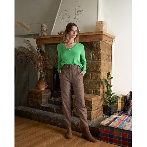 Pantalon taille haute tweed, Made in France - RODIER - Modalova